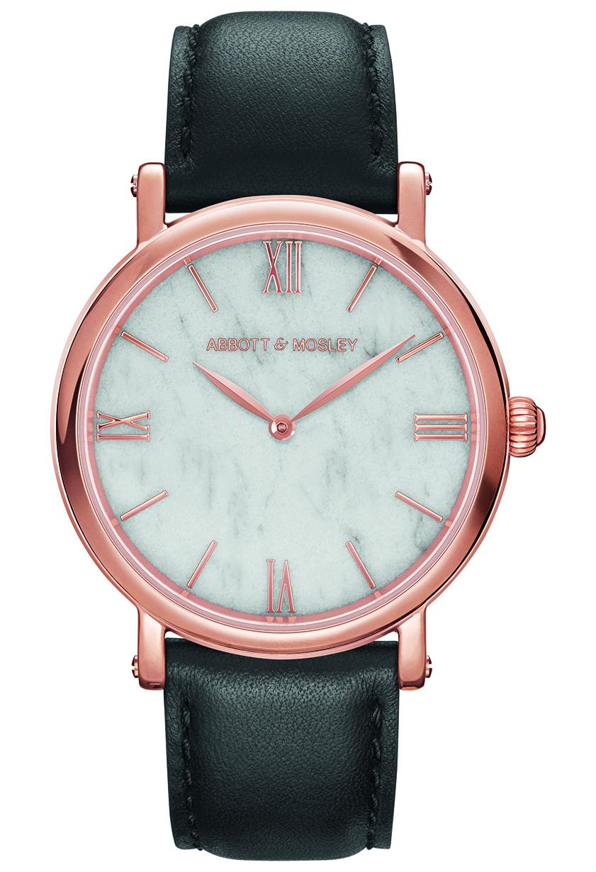 ABBOTT & MOSLEY Rose Carrara Black AM136
