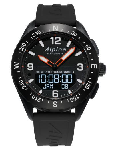 ALPINA AlpinerX Smart Watch AL-283LBB5AQ6