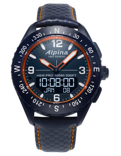 ALPINA AlpinerX Smart Watch AL-283LNO5NAQ6L