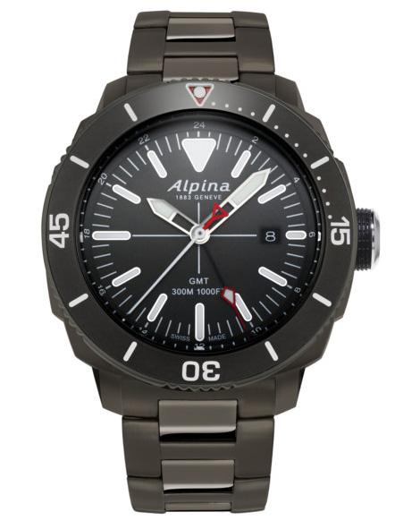 ALPINA Seastrong Diver GMT AL-247LGG4TV6B