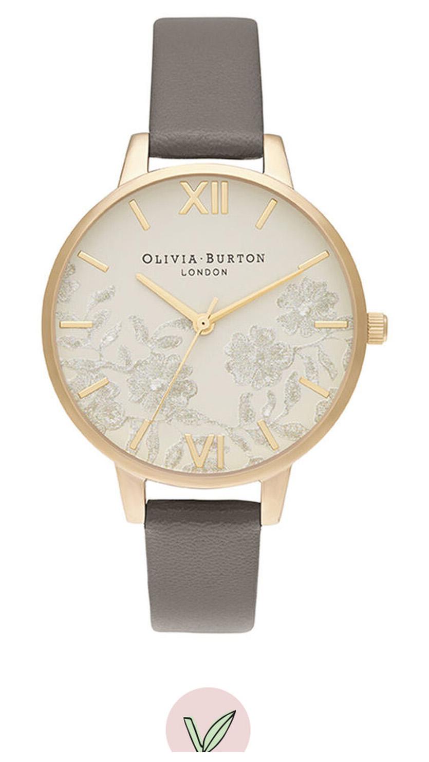 OLIVIA BURTON 3D Daisy Rose Gold & London Grey OB16MV98