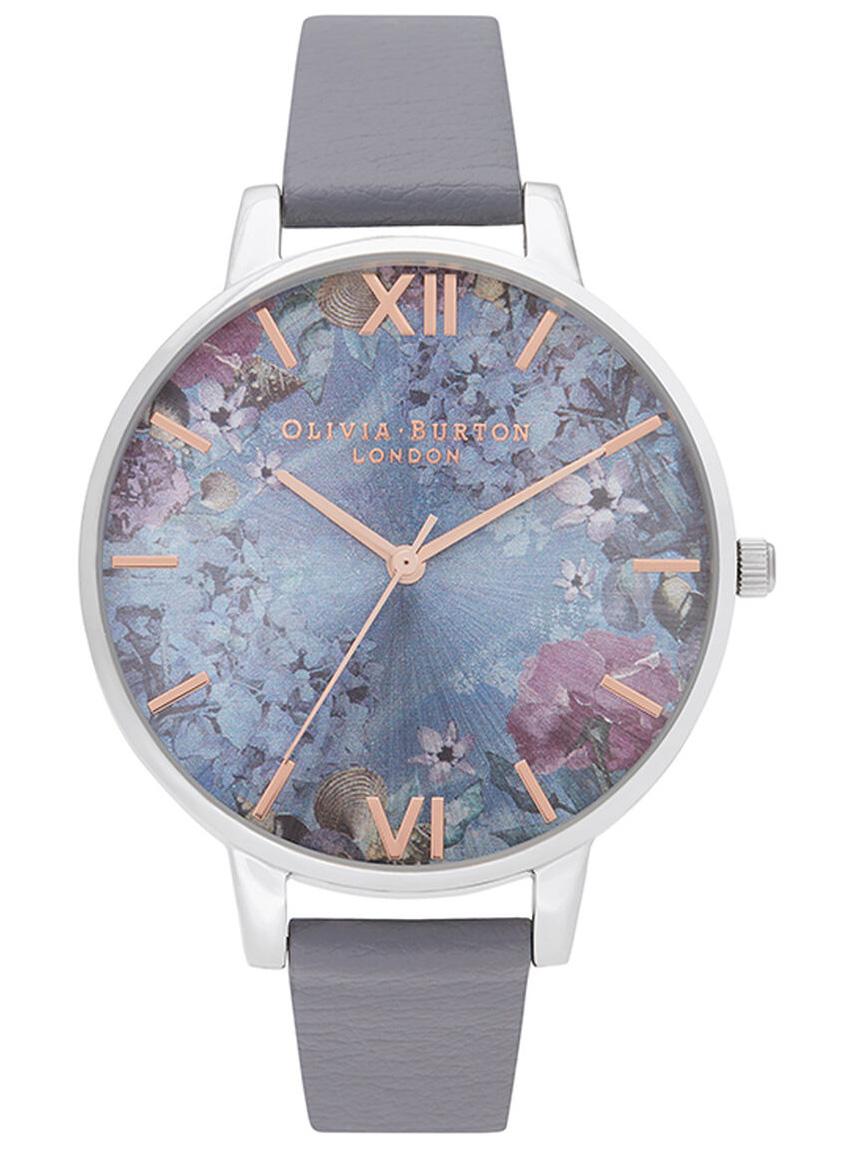 OLIVIA BURTON Under The Sea Eco Friendly Deep Sea Blue & Silver OB16US09