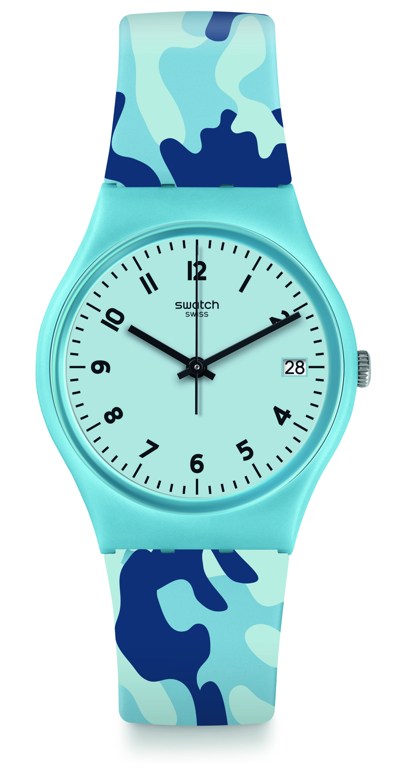 SWATCH Camoublue GS402