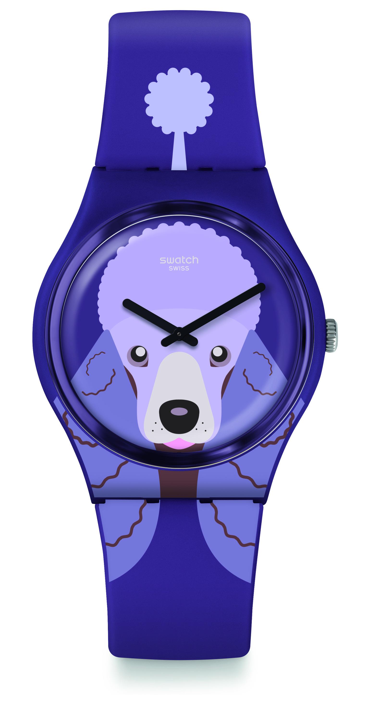 SWATCH Purple Poodle GV133