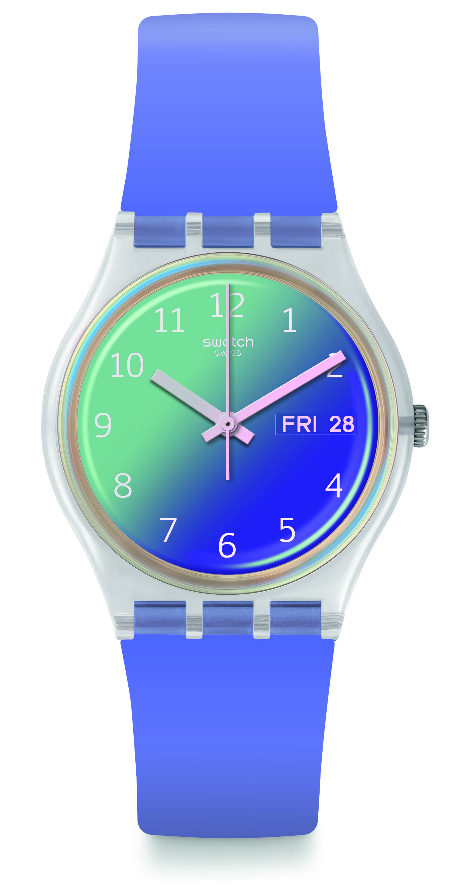 SWATCH Ultralavendel GE718