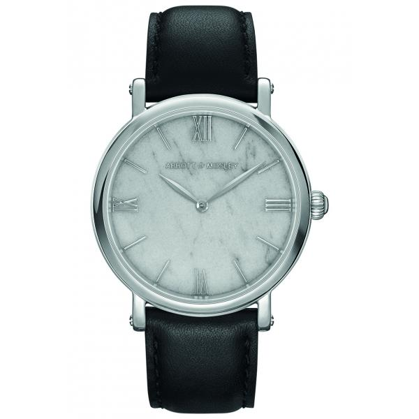 ABBOTT & MOSLEY Silver Carrara Black AM126